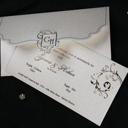 Erdem Invitation Card 50536
