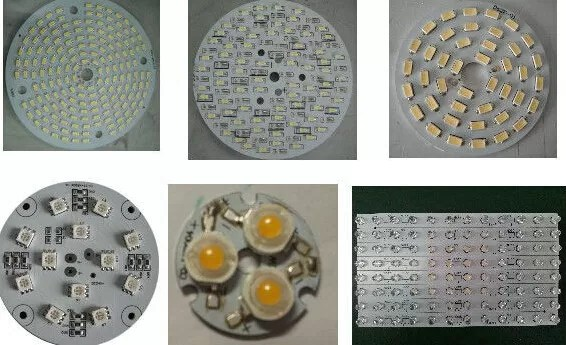 Aluminum Led Pcb Printed Circuit Boards Fabrication And Assembly Of