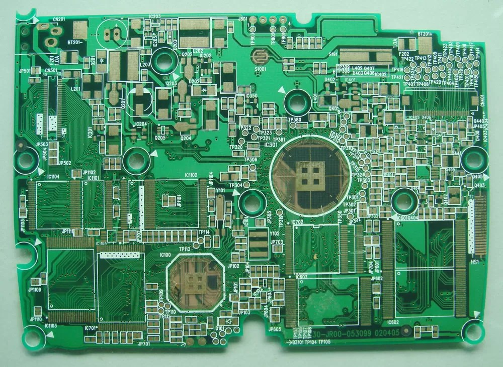 Print Circuit Board Dt808p2h2001a0 China Lead Free Hasl Pcb Board