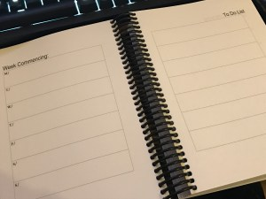 Networking Planner - yearly planner - weekly Plan