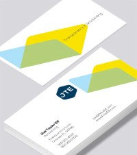 Accounting business card - Modern Design