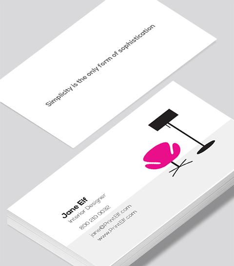Interior Designer Business Card Modern Design