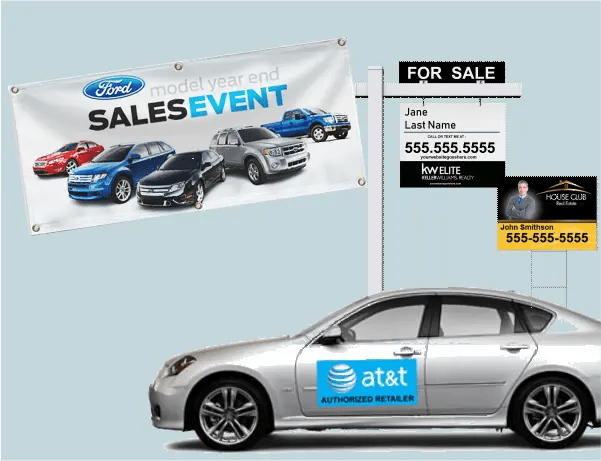 custom signs banners