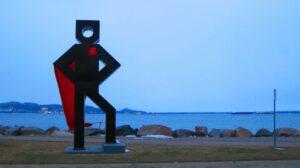 À Sept-Îles, Québec.