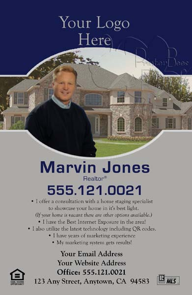 Real Estate Agent Postcards  Free Graphics Design Shipping and Tax Included  EDDM Postcard Sizes