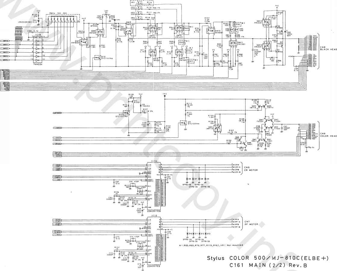 Epson Fx Circuit Diagram
