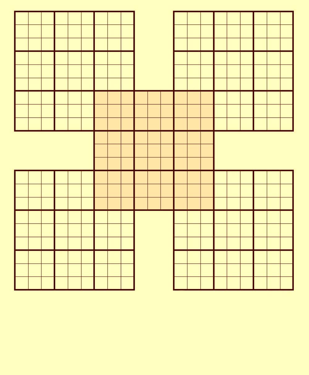 Blank sudoku puzzles jpg
