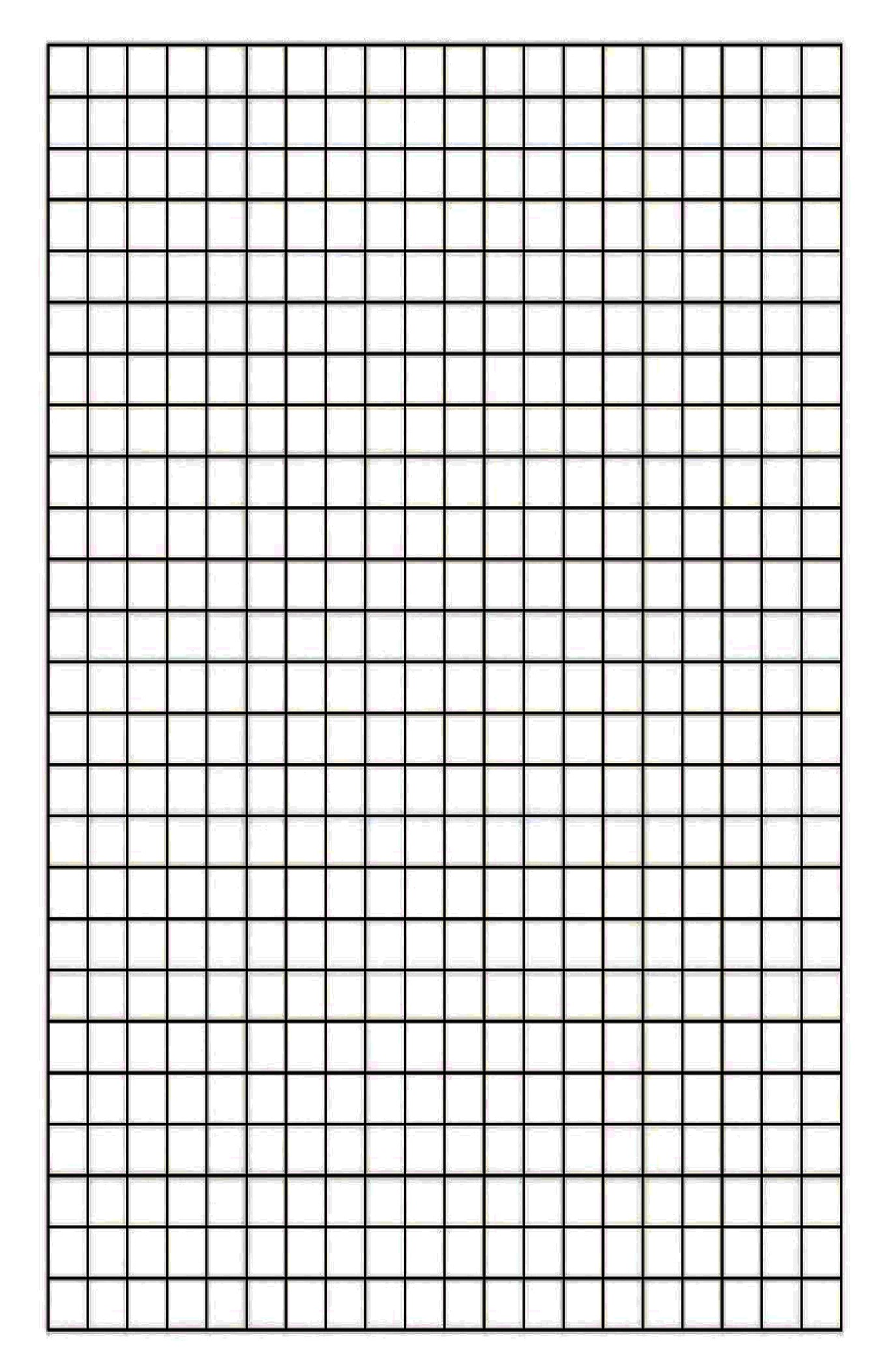 Free Printable Blank Graph Paper
