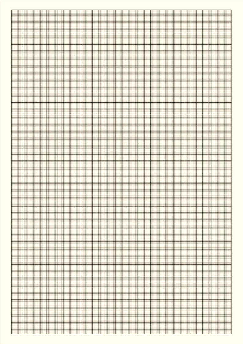 Graph paper Blank for Free- Millimiter paper
