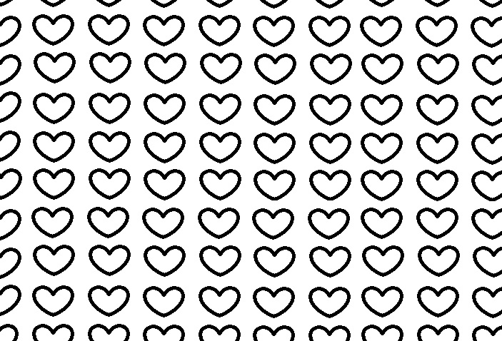 Free printable small heart templates Free printable small heart templates