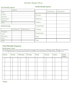 Printable Budget Templates And Free Blank Budget Worksheets Forms Printerfriend Ly