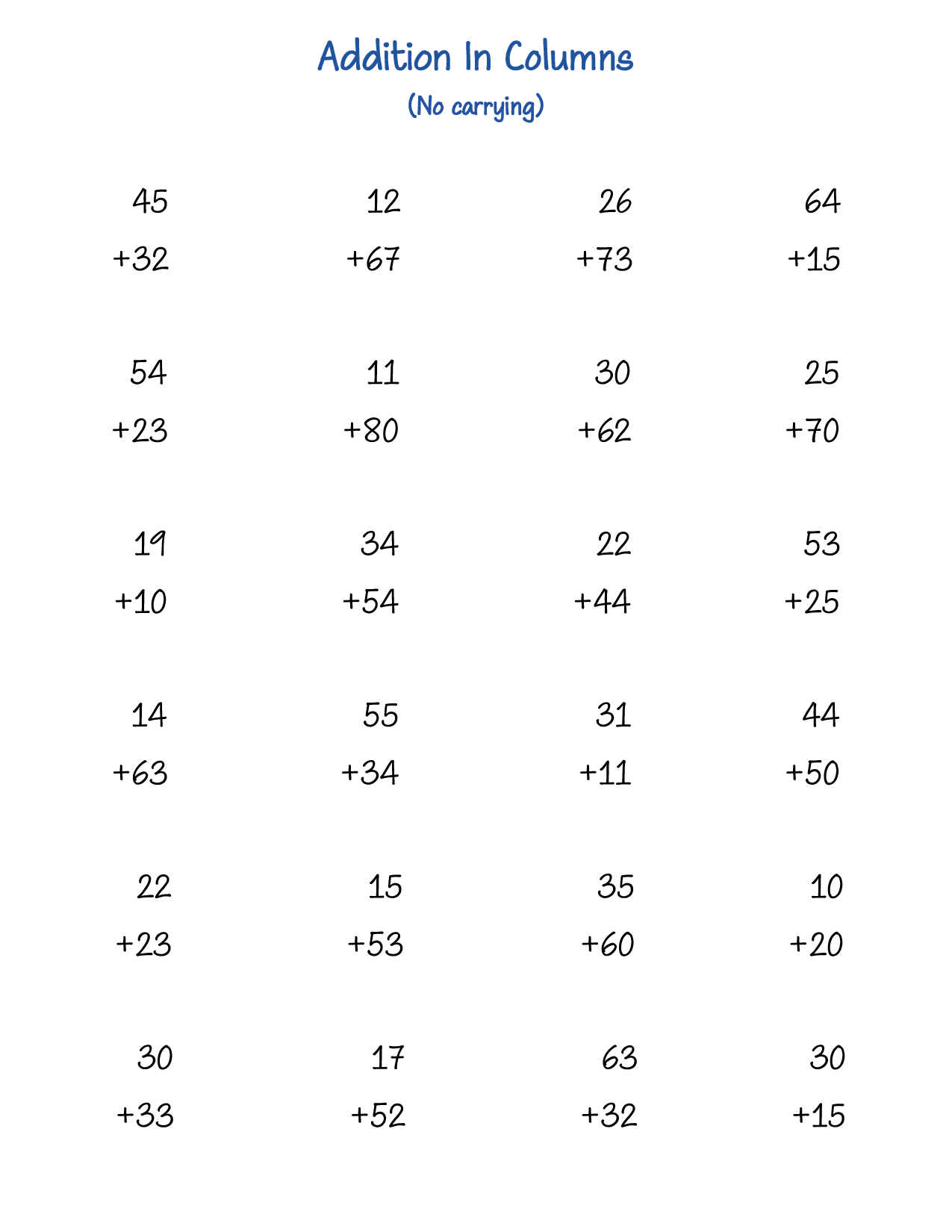Free printable 1st grade math worksheets (addition) in PDF -  Printerfriend.ly [ 1650 x 1275 Pixel ]
