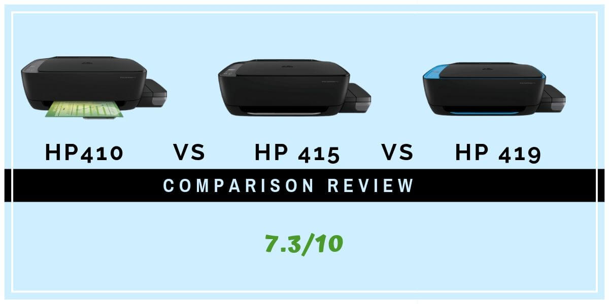 HP 410 Vs 415 Vs 419 Printer Comparison Review