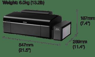 EPSON L805 Dimensions