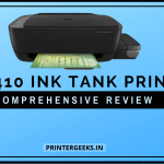 HP 410 Ink Tank Printer Review