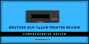 Brother DCP-T420W Ink Tank Printer Review