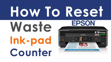 Photo of How To Reset Waste Ink-pad Counter Using Epson Adjustment Program