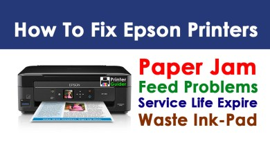 Photo of How to Fix Epson Printer Paper Jam and Feed Problems