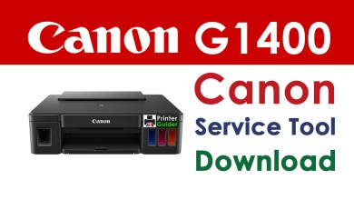 Photo of Canon Pixma G1400 Resetter Service Tool Download