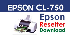 Epson Stylus CL-750 Resetter Adjustment Program Free Download
