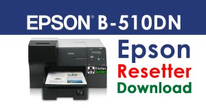 Epson B-510DN Resetter Adjustment Program Free Download