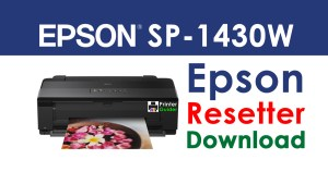 Epson Stylus Photo 1430W Resetter Adjustment Program Free Download