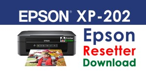 Epson XP-202 Resetter Adjustment Program Free Download