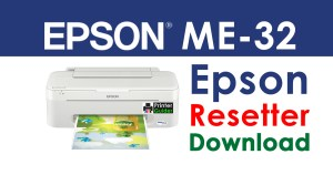 Epson ME 32 Resetter Adjustment Program Free Download