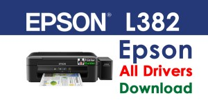Epson EcoTank L382 Printer Driver Free Download