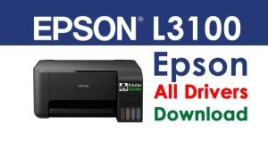 Epson L3100 Printer Drivers Free Download