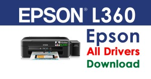 Epson L360 Printer Drivers Free Download
