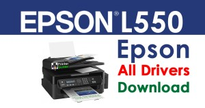 Epson L550 Printer Driver free download