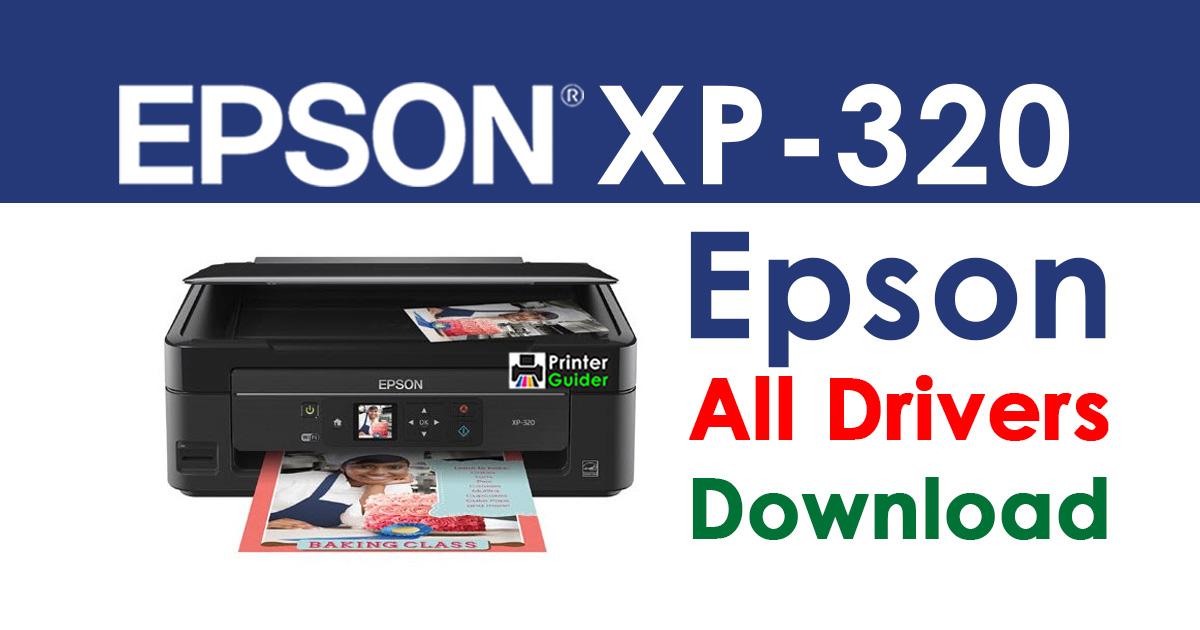 Epson XP-320 Printer driver free download