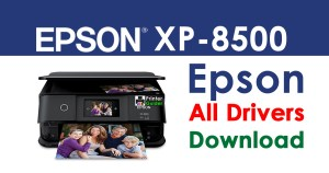 Epson XP-8500 Printer driver free download
