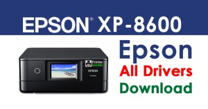 Epson XP-8600 Printer driver free download