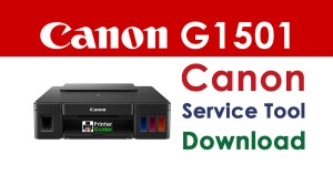 Canon Pixma G1501 Resetter Service Tool Download