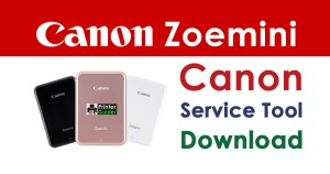 Canon Zoemini Resetter Service Tool Download