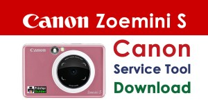 Canon Zoemini S Resetter Service Tool Download