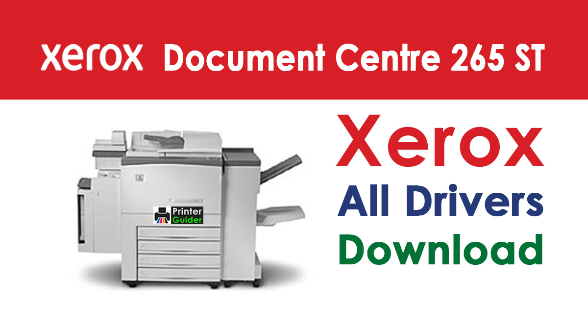 Xerox Document Centre 265 ST Driver Download