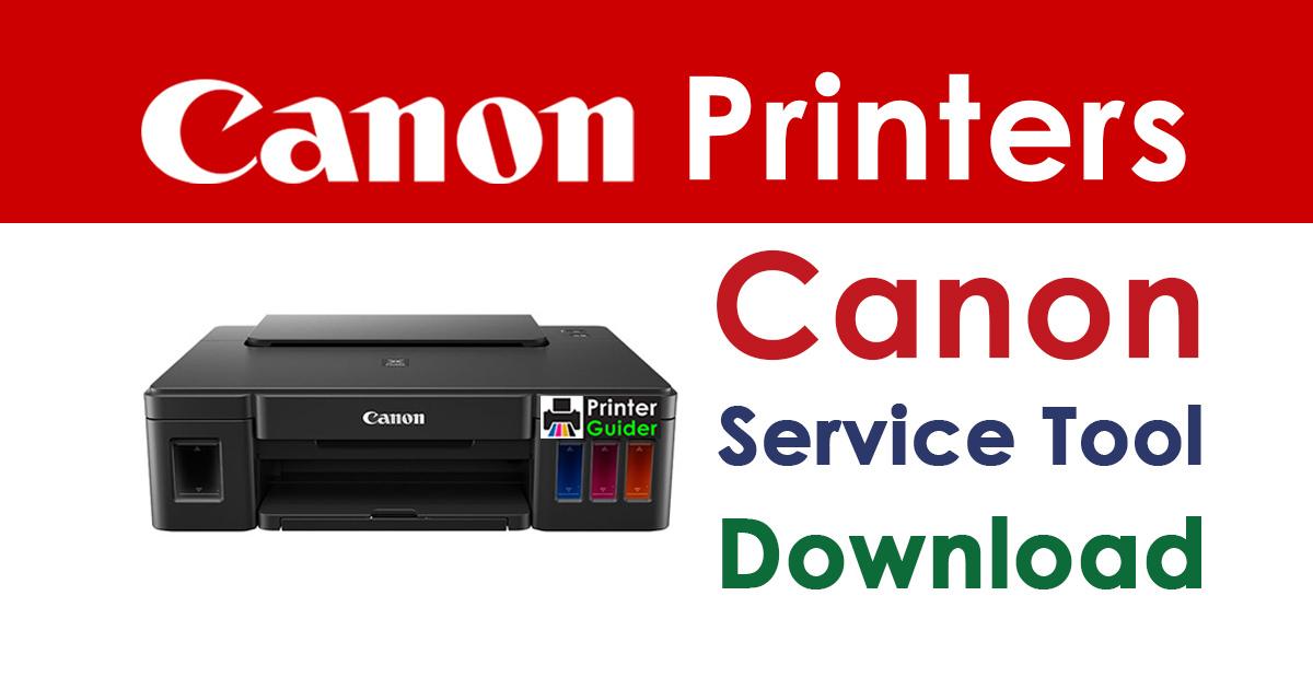 Canon Service tool v3400 Free Download