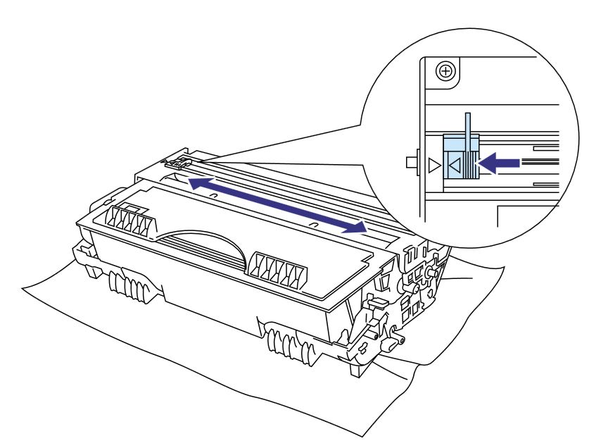Epson CX11NF smearing output with toner (toner recently