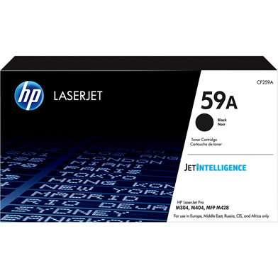 Hp Cf259a 59a Black Toner Cartridge 3 000 Pages Cf259a