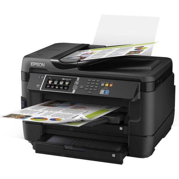 Epson Workforce Wf-7620 A3 Colour Mfp Inkjet Printer