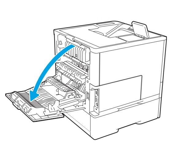 HP LaserJet M607 M608 M609 fuser installation instructions
