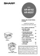 Sharp AR-M207 Manual Downloads