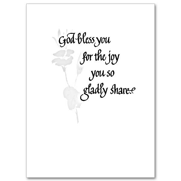 So Grateful for You: Thank You Card