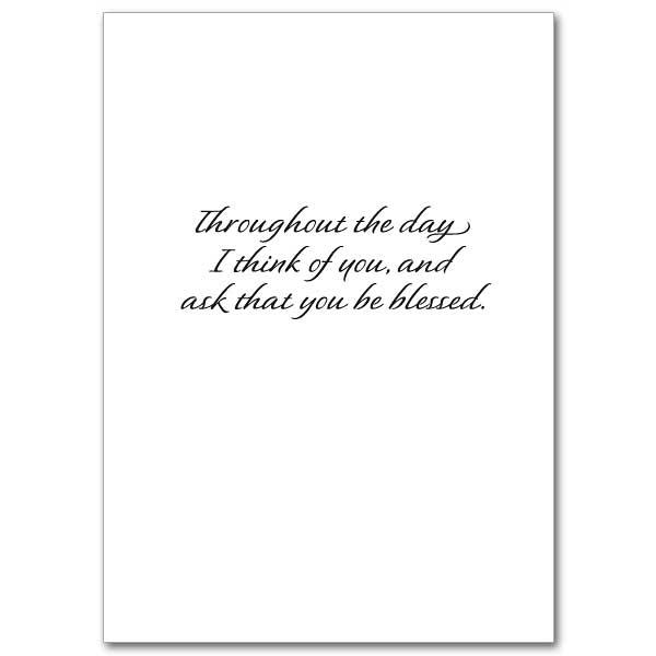 Always in My Prayers: Praying for You Card
