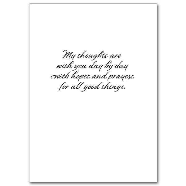 Keeping You In Thought: Thinking of You Card