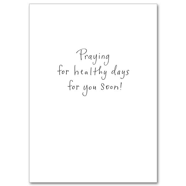 Sending Cheery Thoughts: Get Well Card