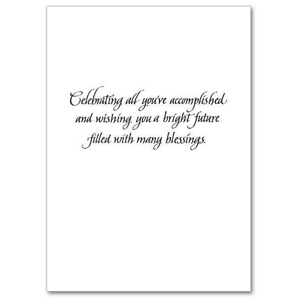 Celebrating All You've Accomplished: Graduation Card